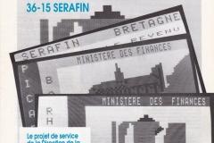 Promotion du 3615 SERAFIN en mai 1990