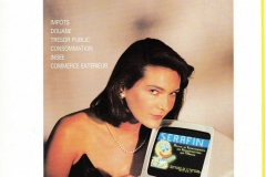 Promotion du 3615 SERAFIN en mars 1990