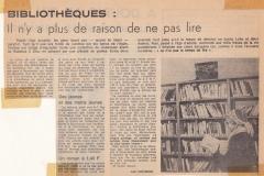 Article dans Ouest-France (janvier 1978)