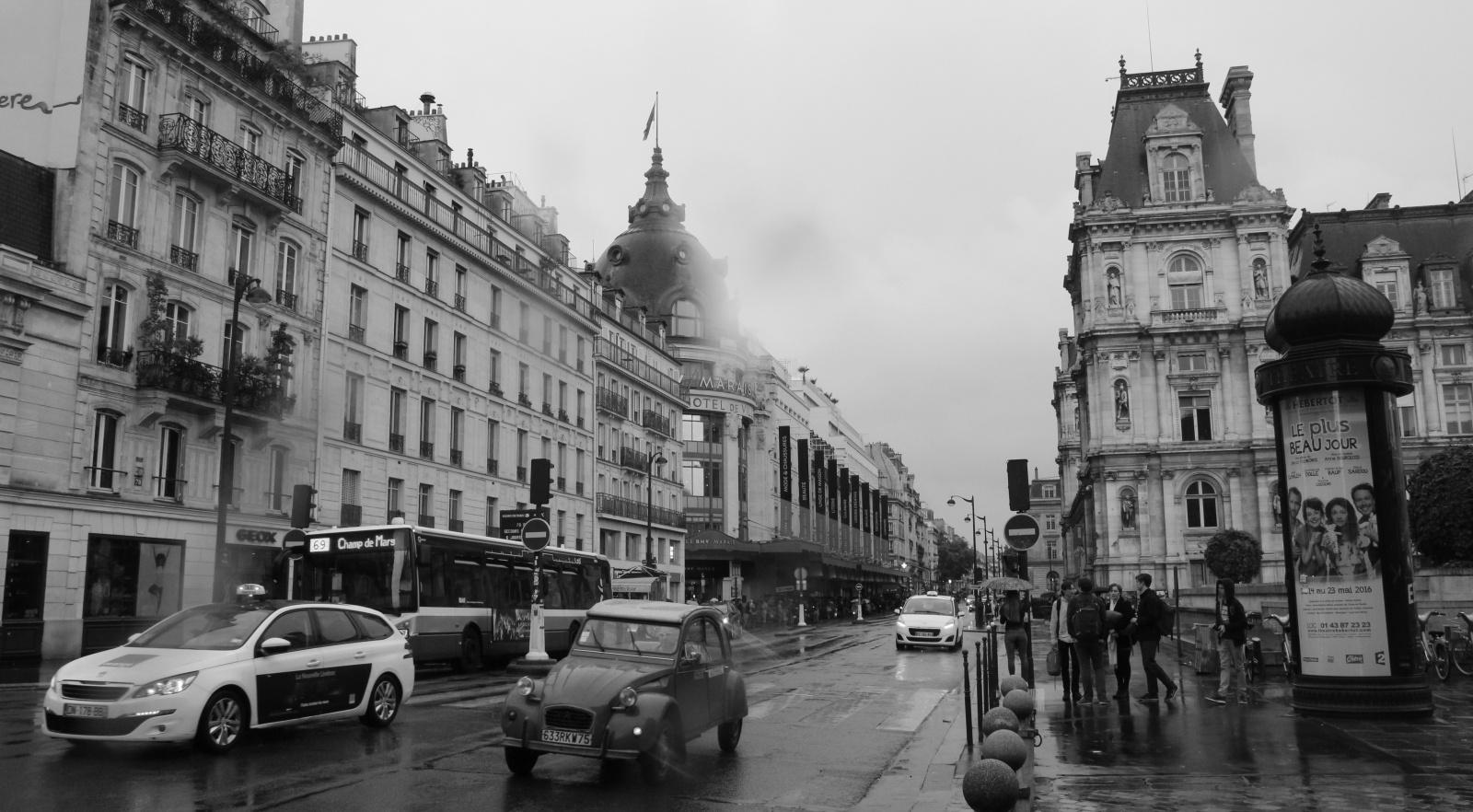 Paris sous la pluie (mai 2016)