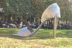 La FIAC au Jardin des Tuilerie de Paris (octobre 2007)